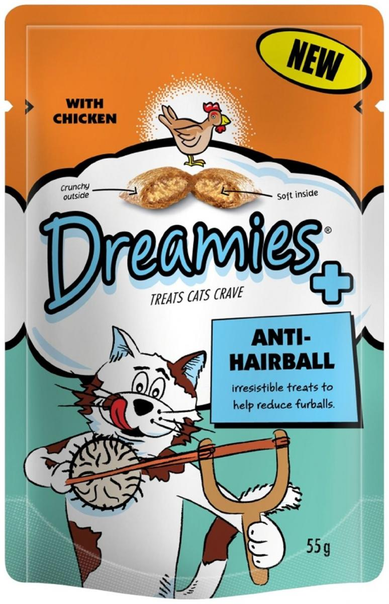 Plus Anti-Hairball with Chicken » 55g Bag