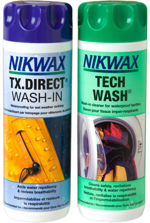 Tech Wash 150ml & TX Direct 100ml Bottles