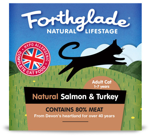 Adult Cat Salmon & Turkey Wet » 12 x 90g Trays