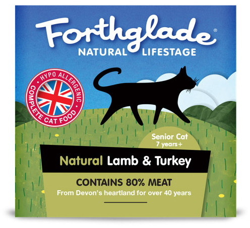 Senior Cat Lamb & Turkey Wet » 12 x 90g Trays