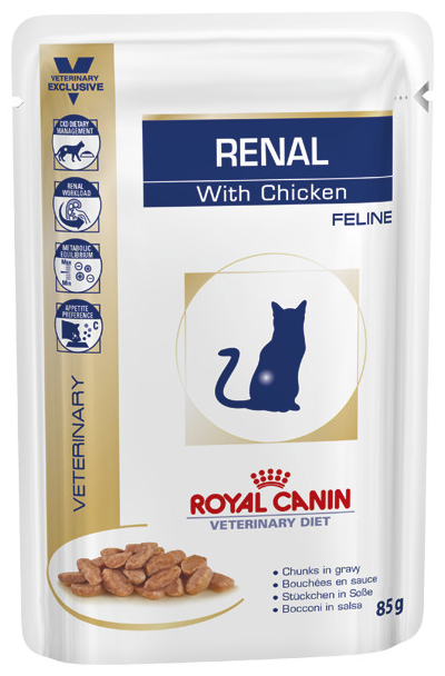 Chicken Wet » 48 x 85g Pouches