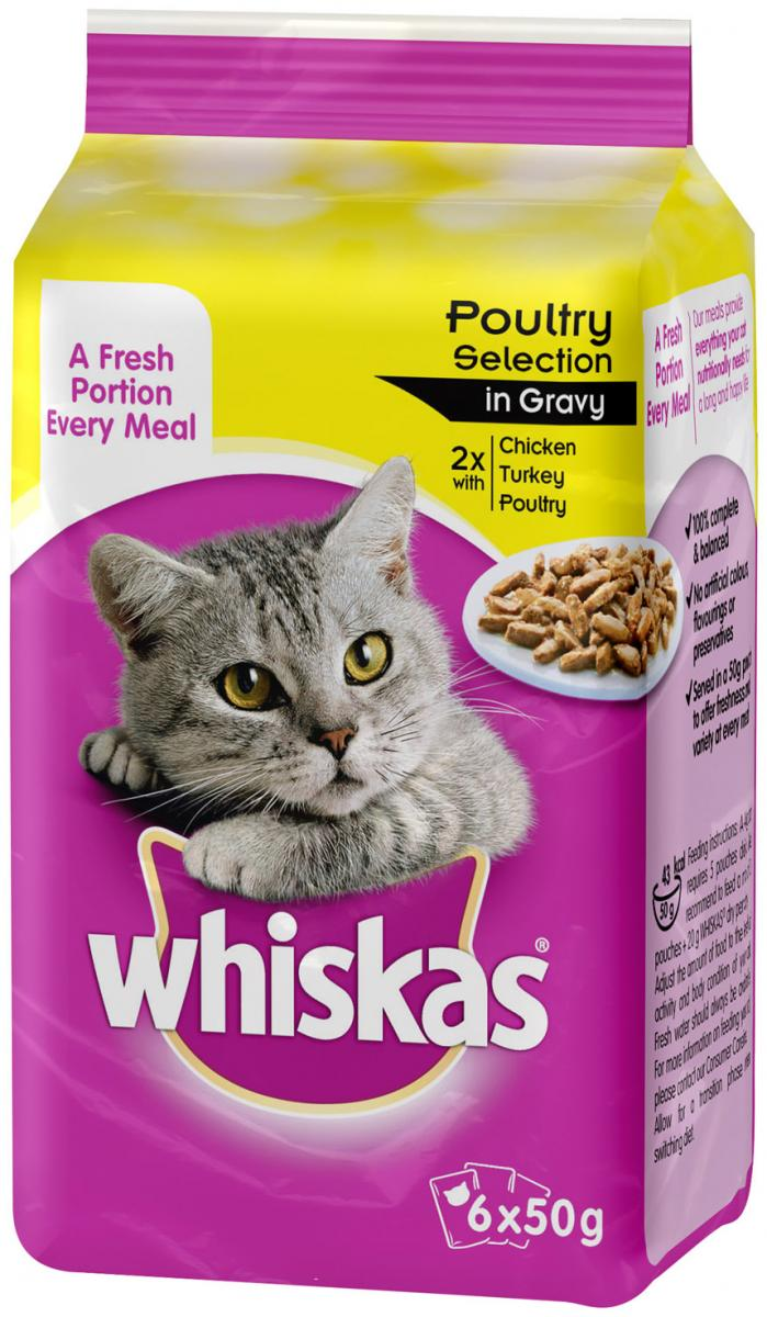 Poultry Selection in Gravy Wet » 6 x 50g Pouches