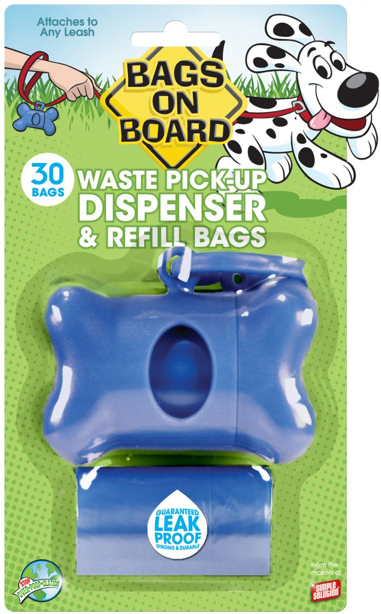 Dispenser Blue » 2 x 15 Bag Rolls