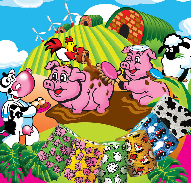 Funny Farm » 7.5cm x 5m (Pack of 12)