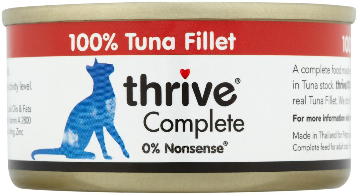 Tuna Fillet Wet » 12 x 75g Cans