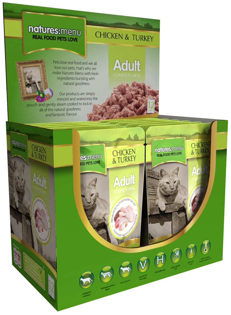 Adult Chicken & Turkey Wet » 12 x 100g Pouches