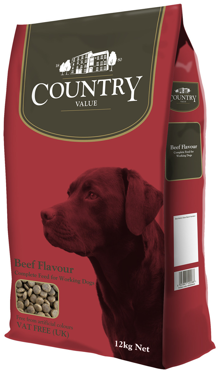 Working Dog Beef Dry » 15kg Bag