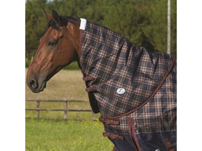 Neck Cover » Navy/Burgundy Plaid » Large
