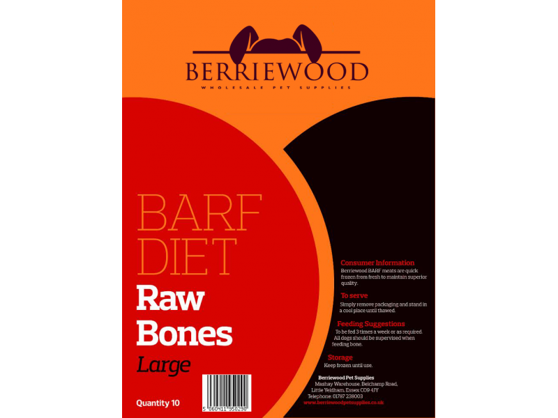 Raw Bones Large » Pack of 10