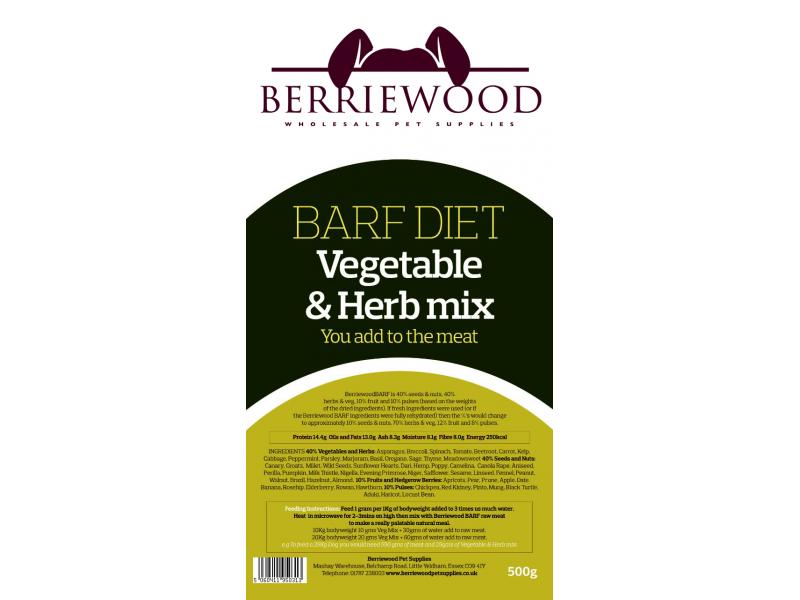 Berriewood Herb Amp Vegetable Mix