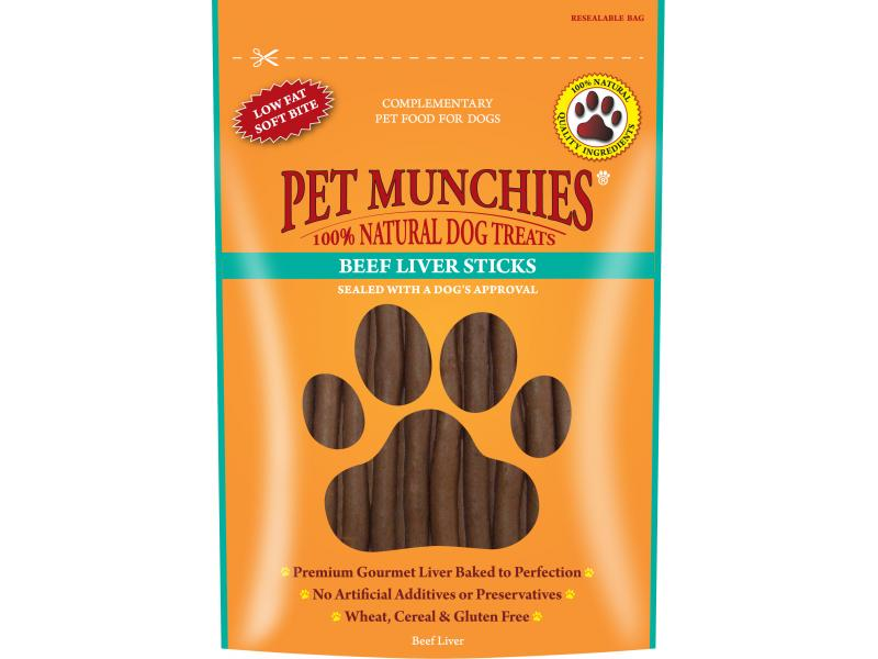 Beef & Liver Sticks » 90g Pouch