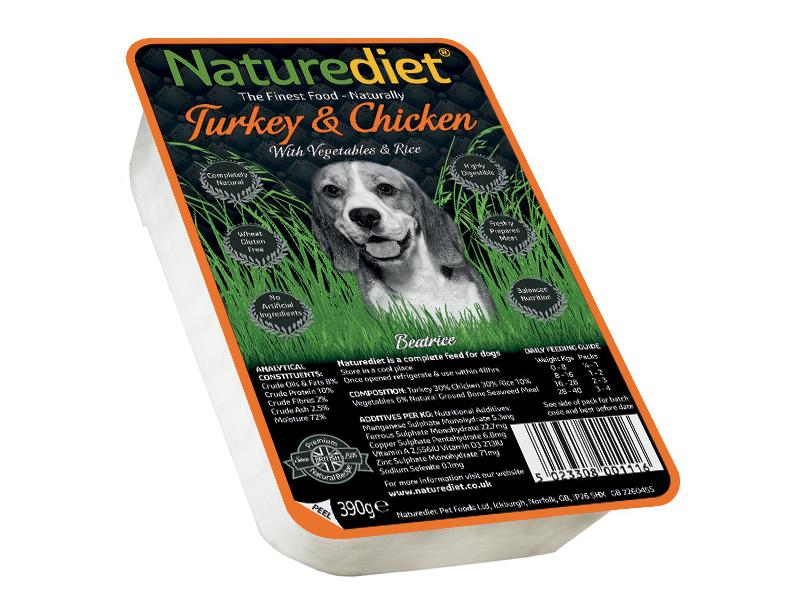 All Ages » Turkey & Chicken Wet » 18 x 390g Trays