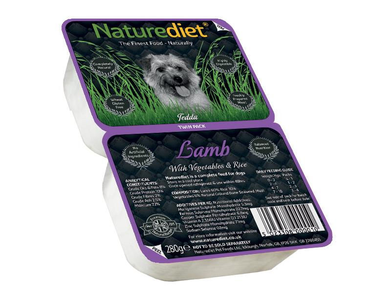Twin Pack » Lamb Wet » 18 x 280g Trays