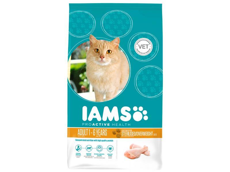 Dry Cat Food Sterilised Overweight