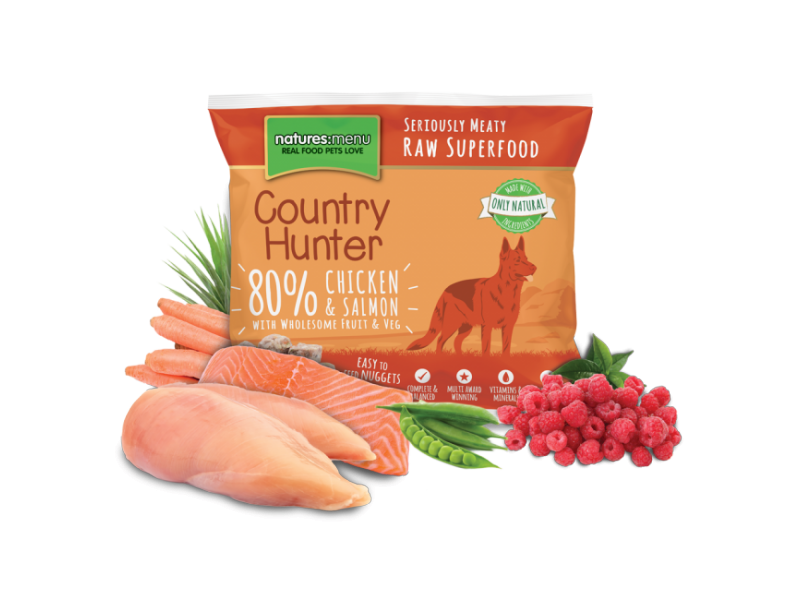Salmon/Chicken/Raspberry » 8x1kg