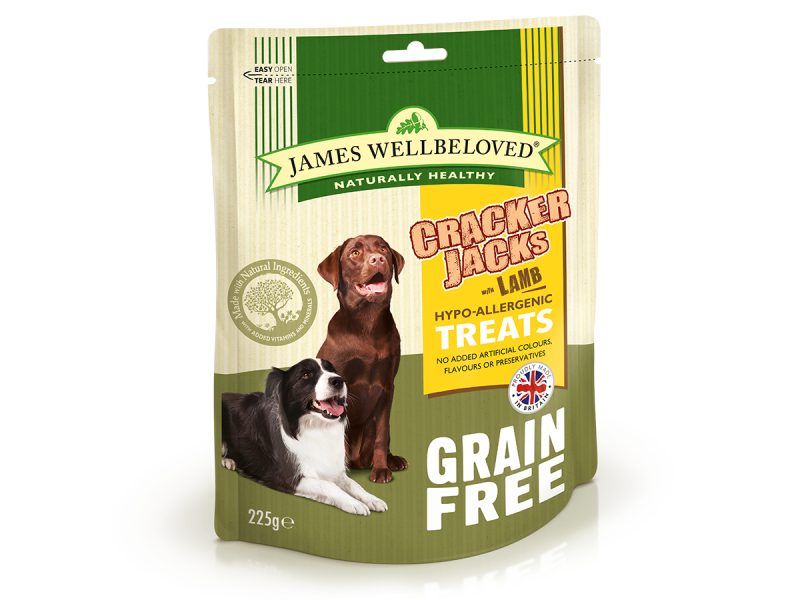 Grain Free Lamb And Veg Dry » 225g Bag