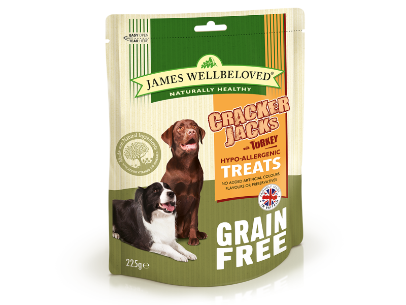 Grain Free Turkey And Veg Dry » 225g Bag