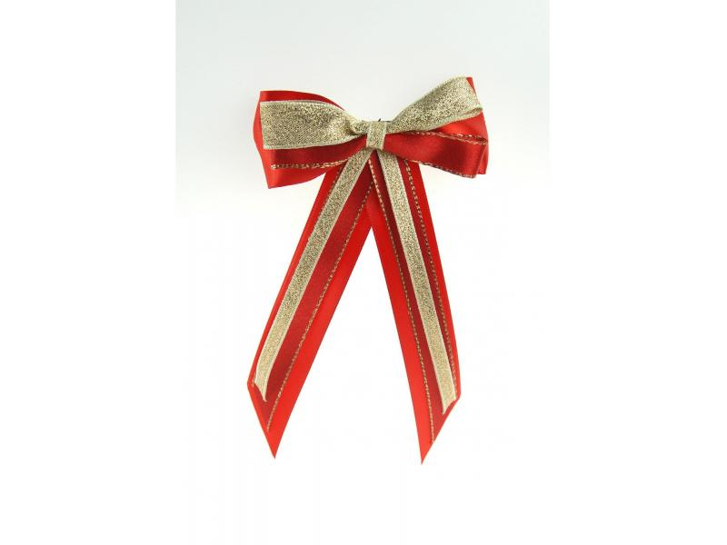 Hairbow & Tails » Red/Gold