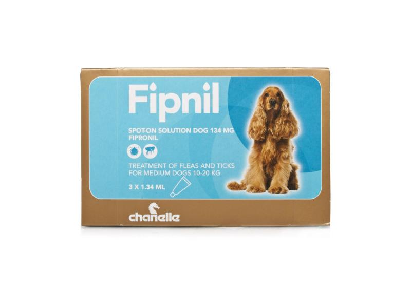 Medium Dog (10-20kg) 134mg » 3 Pipettes
