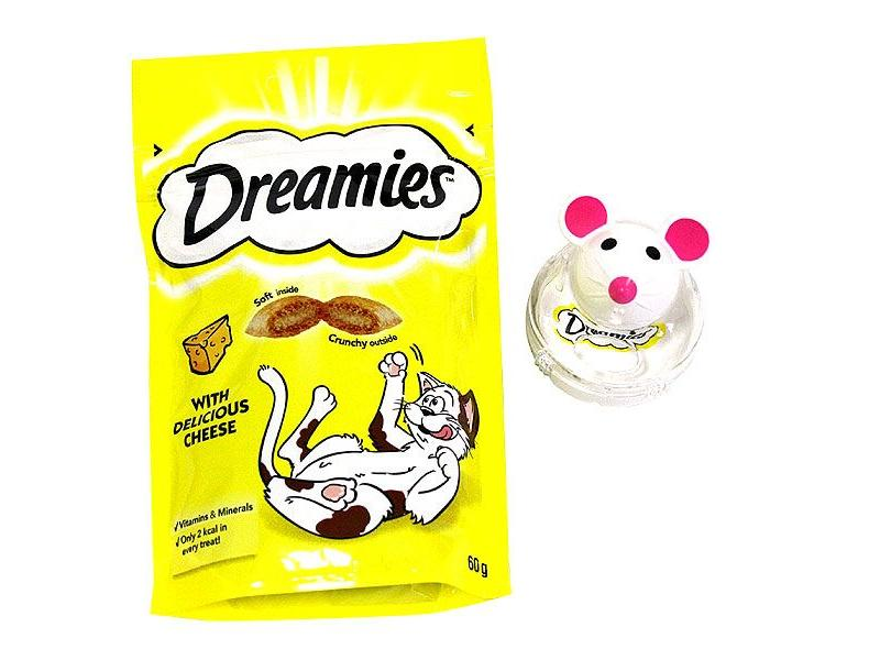 Limited Edition Snacky Mouse and Cheese Treats » 60g Bag