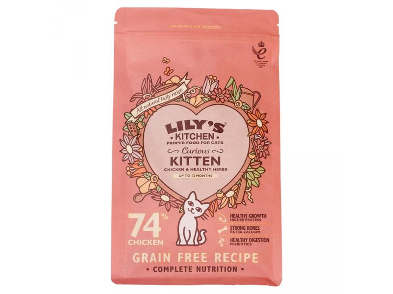 Curious Kitten » Dry » 200g Bag