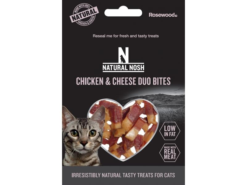 Chicken & Cheese Duo Bites » 50g