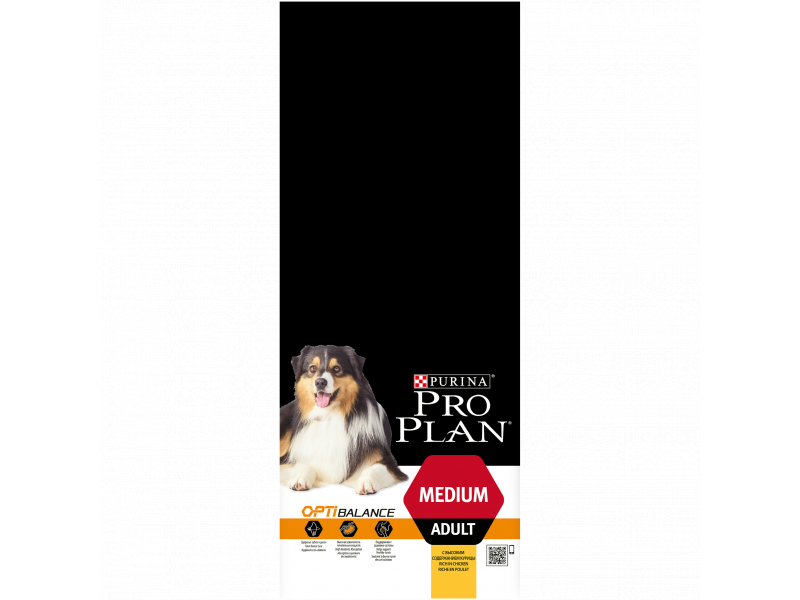 purina pro plan medium adult with optibalance dog food formerly optihealth. Black Bedroom Furniture Sets. Home Design Ideas