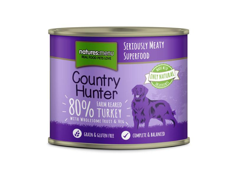 Farm Reared Turkey » 6 x 600g Cans