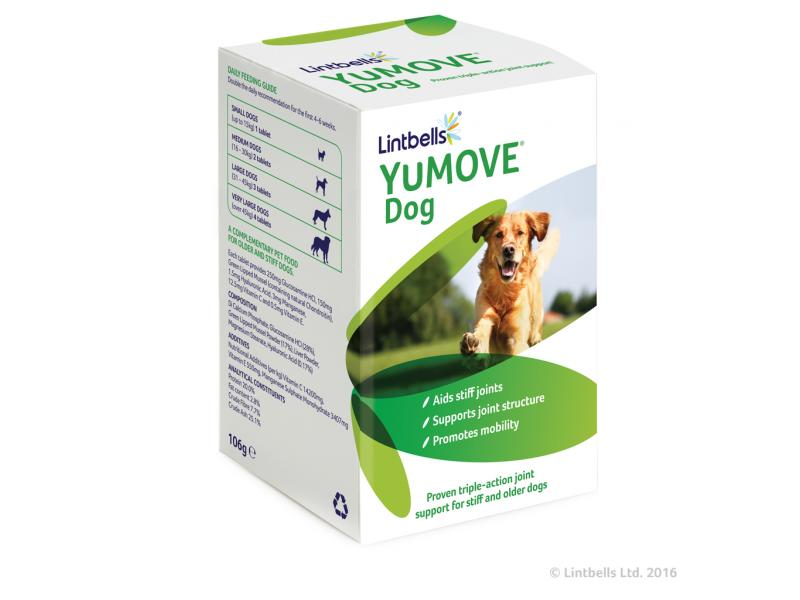 YuMove Dog » Pack of 120 Chewable Tablets