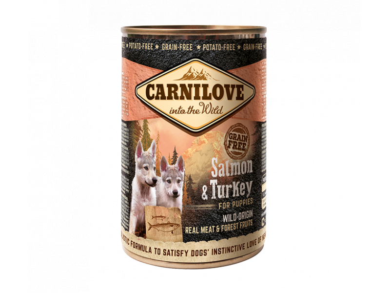 Puppy » Salmon & Turkey » 6 x 400g Cans