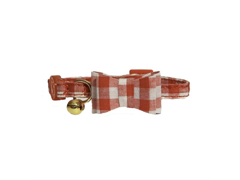 Red Gingham Bow-Tie