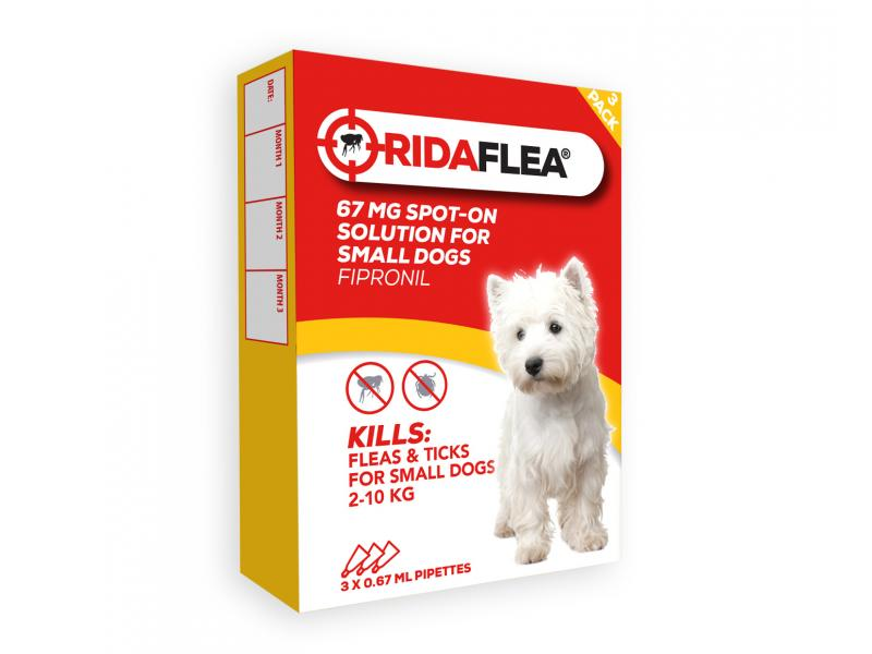 Small Dog (2-10kg) » 67mg » 3 Pipettes
