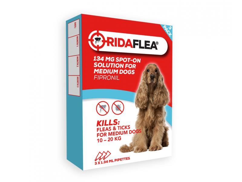 Medium Dog (10-20kg) » 134mg » 3 Pipettes