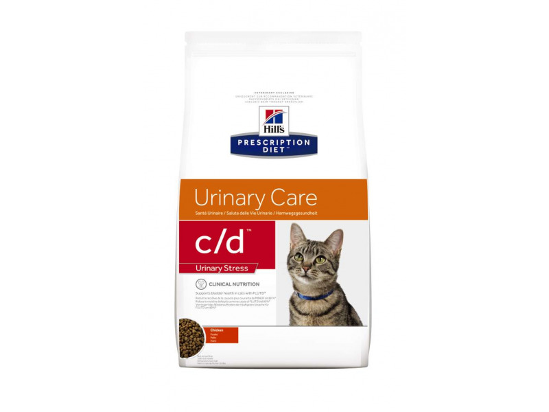 Hills Prescription Diet C D Urinary Stress Dry Cat Food