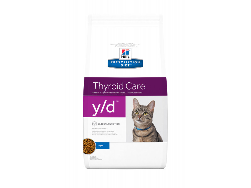 Thyroid Care Prescription Diet Food For Cats