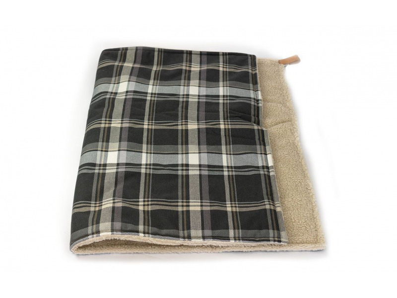 Marlow » Blanket » Grey Tweed » Large