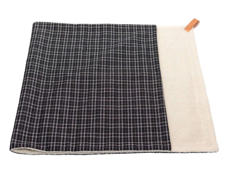 Ascot » Blanket » Black Tweed » Large