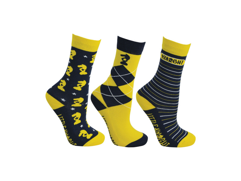 Navy/Yellow/White » Pack of 3 » Size Child 8-12