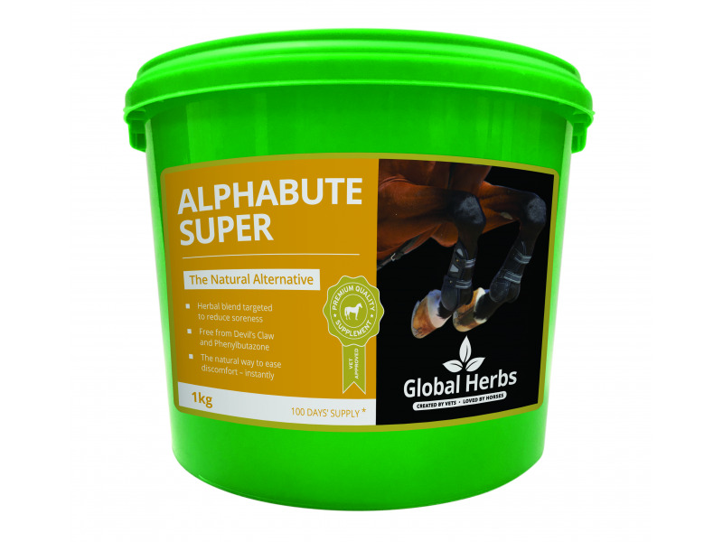 Global Herbs Alphabute Powder for Horse Joints and Muscles