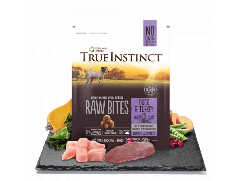 Duck & Turkey Bites » Small Breed » 500g