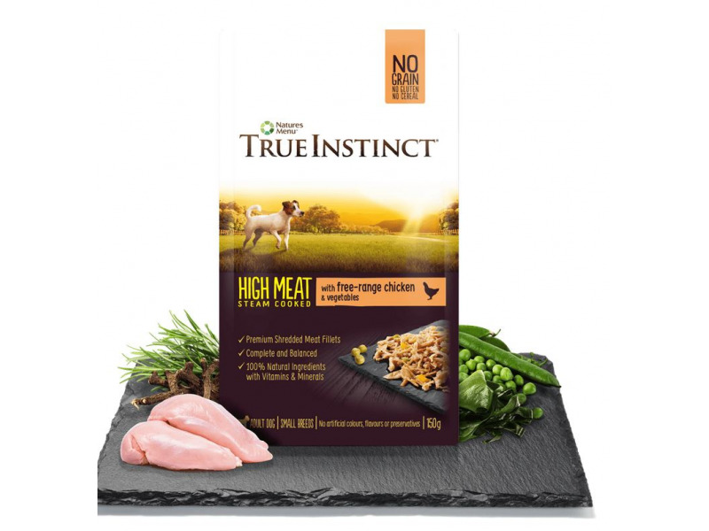 Chicken Fillets » Small Breed » 8 x150g Pouches