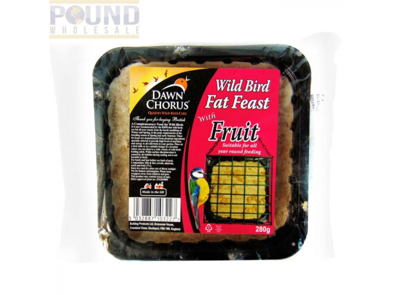 Fat Feast with Fruit » Pack of 12 x 280g