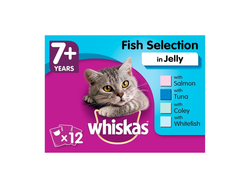 Fishy Selection Wet » 12 x 100g Pouches
